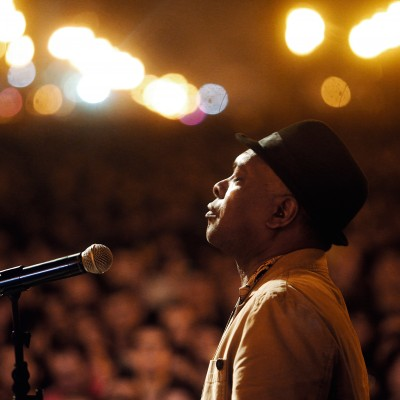 Booker T Jones, maio de 2010.