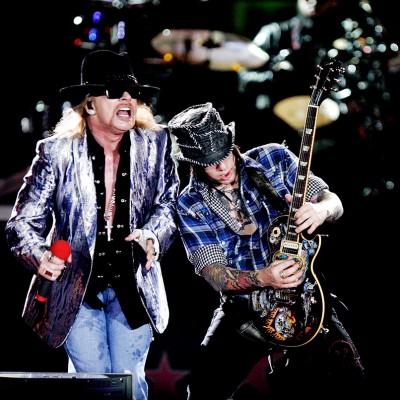 Guns n' Roses, março de 2010.