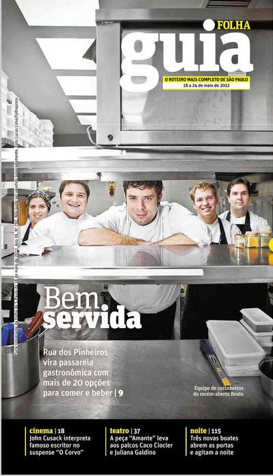Guia da Folha, abril de 2012.