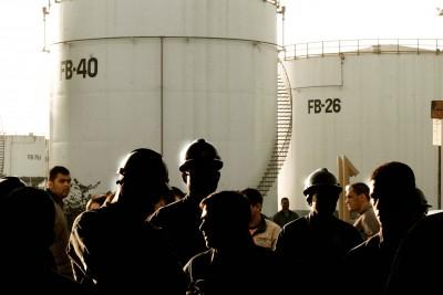 Petroquímica em Mauá, agosto de 2008.